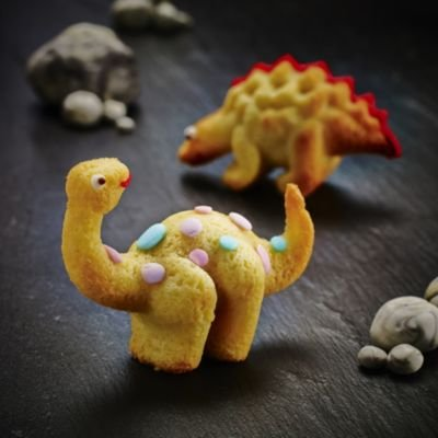 3D Dinosaur Birthday Cake Silicone Mould (3 Species)