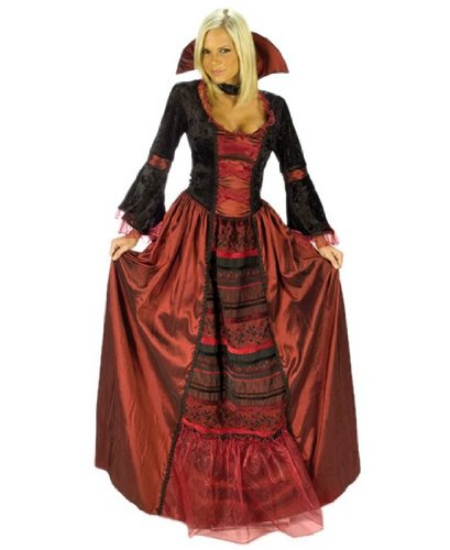 Vampire Queen Costume - Adult Halloween Costume - Medium/Large