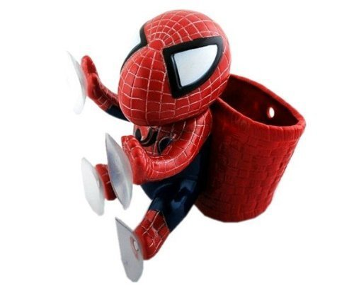 KADA(TM)Cute Hang Spider Man Doll Auto Car Decoration Inner Suker Furnishing Article