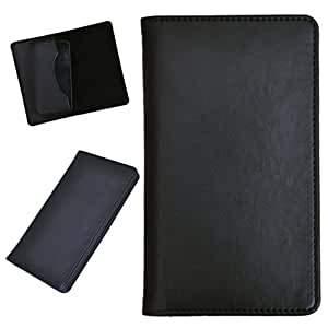 DCR Pu Leather case cover for LG D410 (black)