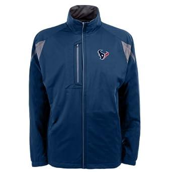 NFL Mens Houston Texans Desert Dry Full Zip Jacket by Antigua