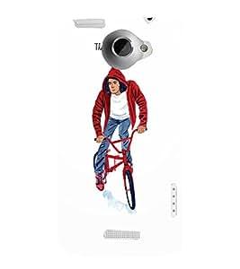 EPICCASE The BMX-ER Mobile Back Case Cover For HTC One X (Designer Case)