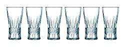 Luminarc Acropolis Highball Tumbler Set, 300ml, Set of 6, Transparent