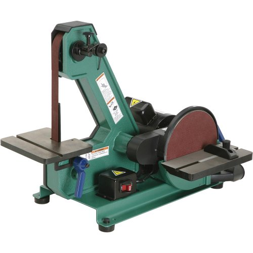 Grizzly-H8192-Belt-with-8-Inch-Disc-Sander-1-by-42-Inch
