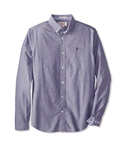 Original Penguin Men's Long Sleeve Oxford Shirt