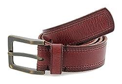 tZaro Genuine Leather, Metal Buckle Men's Belt