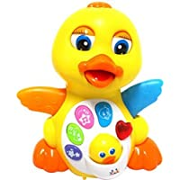 Sunshine Latest Educational Musical Duck Toy, Unbreakable With Multi-Skill Learning Features, Battery Operated Toy