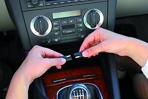 AEG Automotive 97211 Doppelsteckdose DH 200, 12 Volt mit USB-Buchse incklusiv Batteriewächterfunktion und Spannungsanzeige by AEG