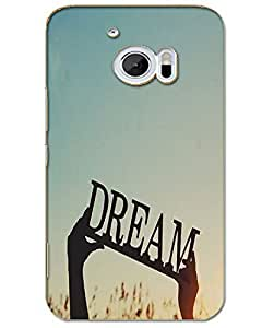 AT Shopping 3d Htc 10 Back Cover Designer Hard Case Printed Mobile Cover