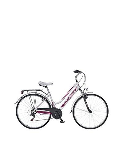 Coppi Bicicleta Trekking Aluminio Rambling Blanco / Púrpura