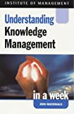 Understanding Knowledge Management in a Week (Successful Business in a Week) (0340757868) by MacDonald, John