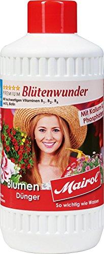 Mairol Blumen-Dünger Blütenwunder Liquid Flüssigdünger (500 ml)