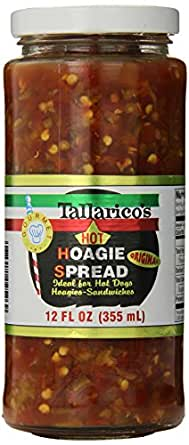 Amazon.com: Tallarico's Hot Hoagie Spread 12oz