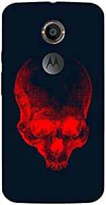 Outstanding 3D multicolor printed protective REBEL mobile back cover for Moto-X-2 - D.No-DEZ-1022-motox2