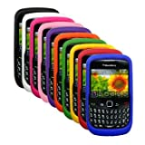 Ten Silicone Cases / Skins / Covers for RIM BlackBerry Curve 3G 9330 / 9300 ....