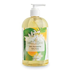 Garden Botanika Skin Reing AHA Body Cleanser, Light Yellow, Citrus, 16.9 Fluid Ounce by Garden Botanika