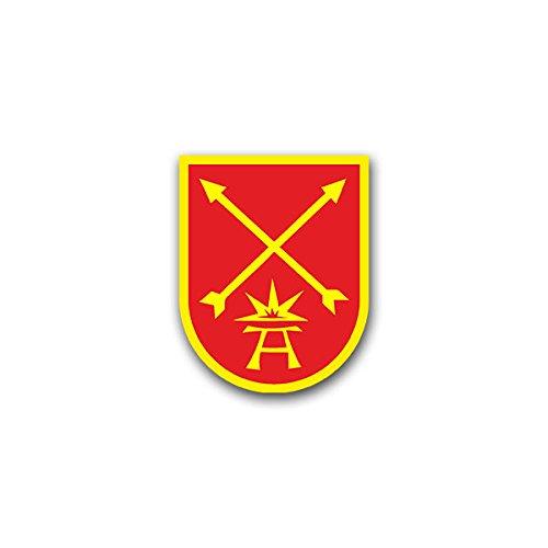 Aufkleber / Sticker - PzJgKp 60 Panzer Jäger Kompanie Heer Bundeswehr Wappen Abzeichen Emblem passend für Opel Astra Audi A6 VW Passat (7x6cm)#A1346