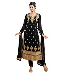 Ladli Creation Women's Santoon Semi Stitched Dress Material (LC_722052_Green_Free Size)