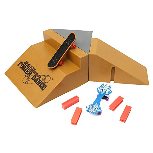 Magic Finger Dance Tech Deck Fingerboard Finger Board Skate Slope Stair Ramp Ultimate Park J5-5 (Aroma Ramp compare prices)
