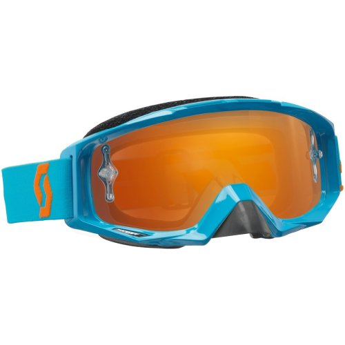Scott Sports Tyrant Goggles (Oxide Electric Blue Frame/Orange Chrome Lens)