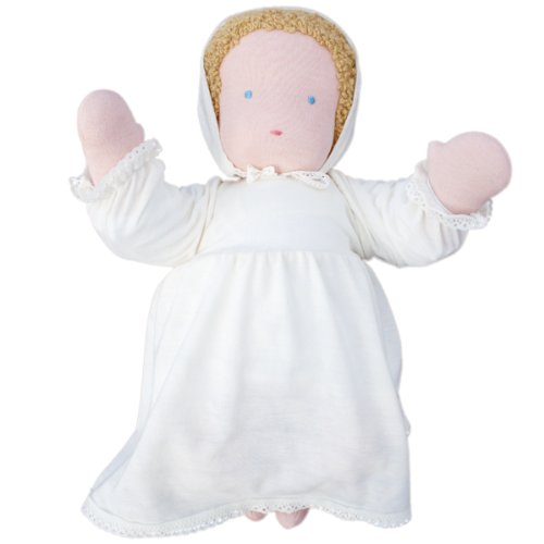 "Waldorf Baby Doll, 15"", Blonde front-649788"