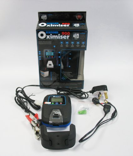Oxford Oximiser 900 12v Professional Automatic Motorcycle Motor Bike Battery Maintenance Charger *** Anniversary Edition ***