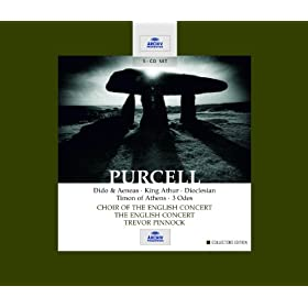Purcell: Dido & Aeneas / King Arthur / Dioclesian / Timon of Athens / 3 Odes (5 CDs)