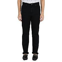 KILLER black solid slim fit men's jeans_32
