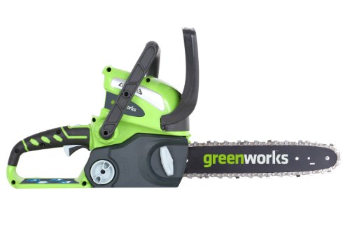 GreenWorks 20292 G-MAX 40V Li-Ion 12-Inch Cordless Chainsaw, Tool Only