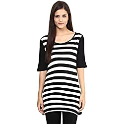 Annabelle by pantaloons Women's Other Top (205000005551315_Black_XS)