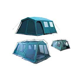 Giga Tent FT053 Giga Tent Spruce Peak 8-12 Sleepers 18x12ft. Family Dome Tent