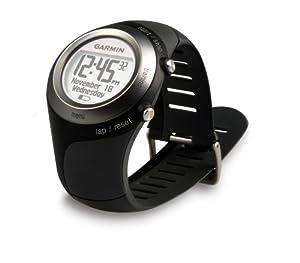 Garmin - Forerunner 405 HRM - Montre GPS Europe - Etanche - Noir