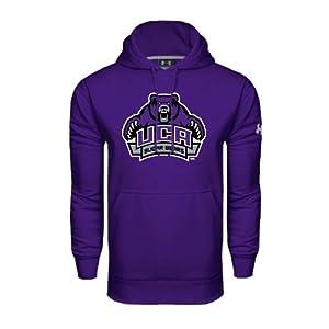Central Arkansas Under Armour Purple Performance Sweats Team Hood