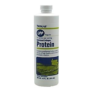 Twinlab LPP Hydrolyzed Collagen Protein Supplement, 16 Ounce