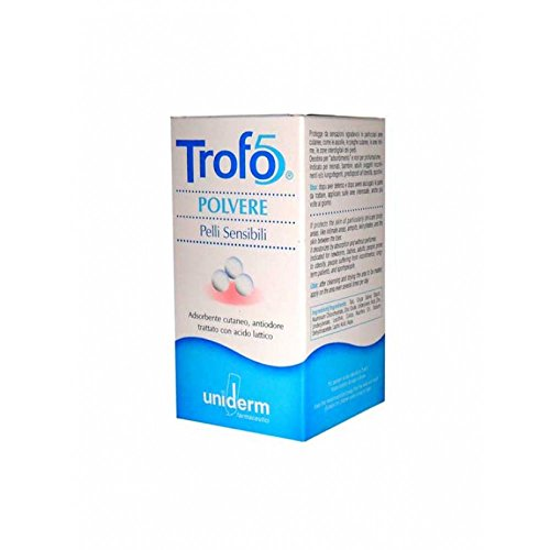 trofo-5 polvere adsorbente e antiodore per pelli sensibili