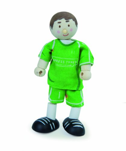 Budkins Goal Keeper Toy Figure, Green
