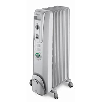The DeLonghi EW7707CM Safeheat 1500W ComforTemp Portable Oil-Filled Radiator will effectively heat any room in the home. The unit is permanently sealed with pure diathermic oil for stable, efficient heating and never needs refilling. Patented thermal...