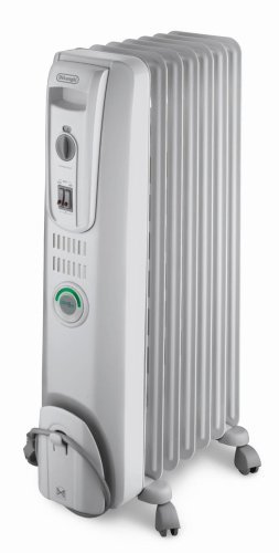 DeLonghi EW7707CM Safe Heat 1500W ComforTemp Portable Oil-Filled Radiator (Large Oil Filled Radiator Heater compare prices)