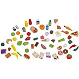 Kidkraft Mini Tasty Treats Play Food Set - 65 Piece Assortment