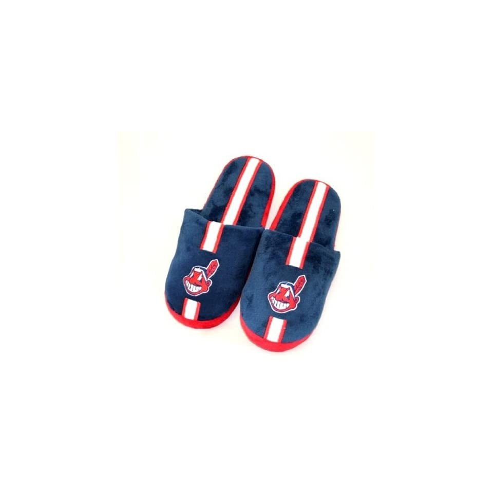 Cleveland Indians Mens Slippers House Shoes