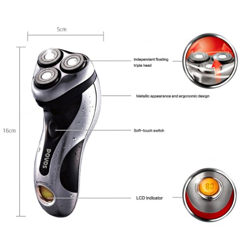 13 Degree Acute Blade Smooth Shaver Povos