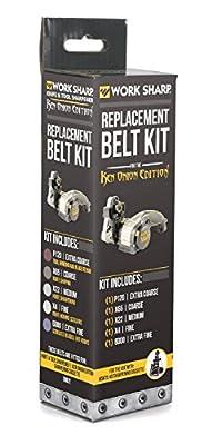 Work Sharp WSSAKO81113 Assorted Belt Kit