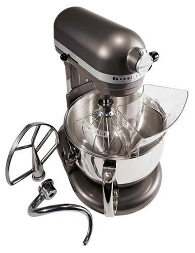 KitchenAid KP26M1XPM 6-Quart Professional 600 Series Mixer, Pearl Metallic