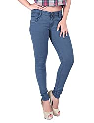 Airways Womens' Stretchable Ankle Length Denim-28
