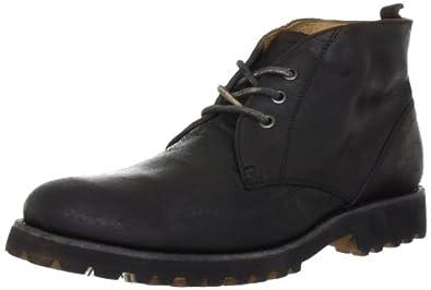 Pantofola D'Oro VETTORE DESERT VT14-U, Herren Desert Boots, Schwarz (BLACK 25Y), EU 42