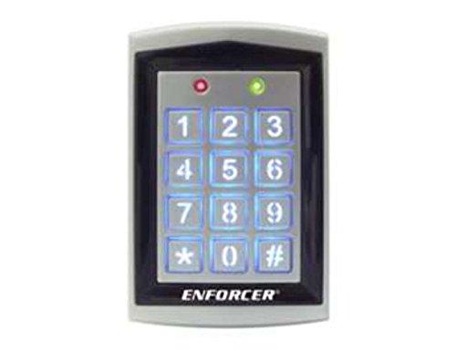 SK-1323-SPQ Seco-Larm Sealed Housing Weatherproof Digital Access Keypad w/ Built-In Proximity Reader