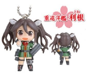 Kantai Collection~KanColle Mascot Figure Swing Keychain~Hanfuda Ver.~Tone