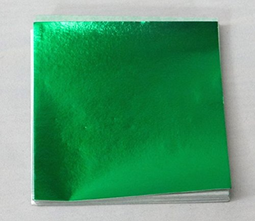 Green Candy Foil Wrappers Confectionery Foil 125 count