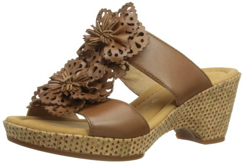 Gabor Womens Degner Fashion Sandals 82.743.53 Dark Brown 5.5 UK, 38 EU