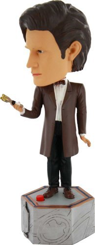 Doctor-Who-Electronic-11th-Doctor-Bobblehead-Action-Figure-by-Other-Manufacturer